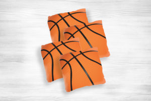 Corn Hole Bag Basketball Design