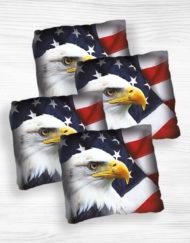 Corn hole bags Eagle design