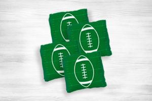 Corn hole bags football1 design