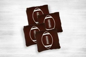 Corn hole bags football2 design