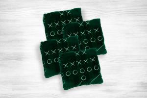 Corn hole bags football3 design