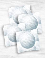 Corn hole bags golf1 design