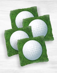 Corn hole bags golf2 design