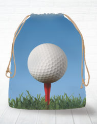 Corn hole bag tote golf design