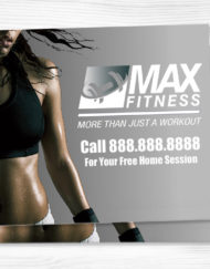 Fitness Yard Sign 24 x 28