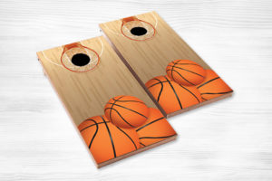 corn hole basketball