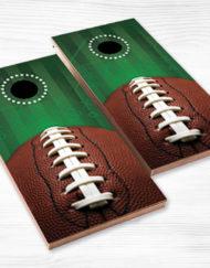 corn hole football green