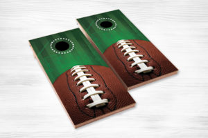corn hole football green