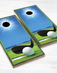 corn hole golf