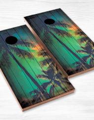 cornhole palm trees