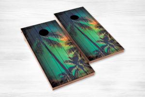 cornhole palm trees
